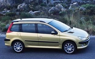 Peugeot 206 I (1998 - 2010) Kombi