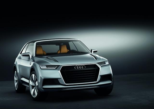 zdjęcie Audi crosslane coupé